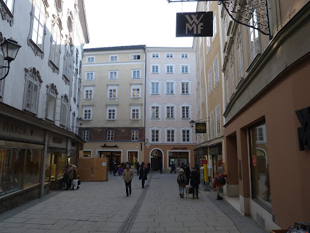 Pe ulitele din Salzburg