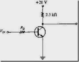 MCQs in Bipolar Junction Transistors Fig. 03