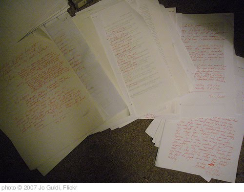 fifty ways to leave your term paper book report tell your story   endless grading of term papers photo c 2007 jo guldi