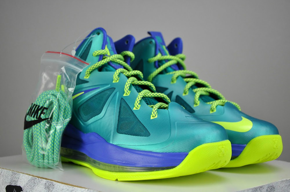 9e4fa12360f ... Kids Get Regular LeBron X8217s instead of Elites for the Turquoise Look  ...