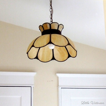 Replacing the old ceiling light