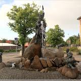 Brunnen mit Odin