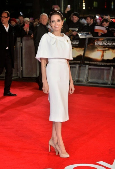 Angelina Jolie Unbroken Premieres London