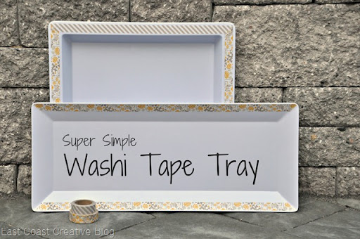 Simple Washi Tape Tray Update