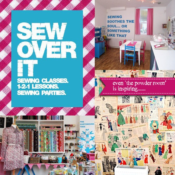 Sew Over It Branding