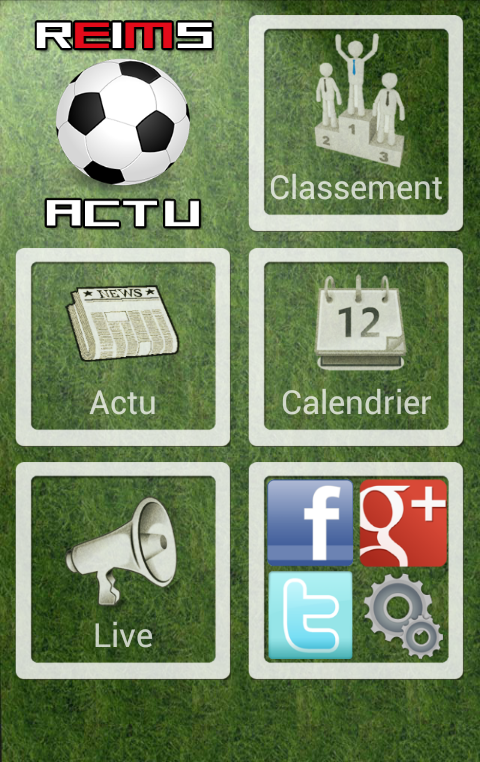 Reims Foot actu (non officiel) - screenshot