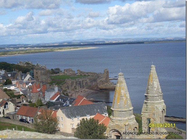 St. Andrews. Catedral. Panorámicas desde Torre de St. Rules-SDC14139