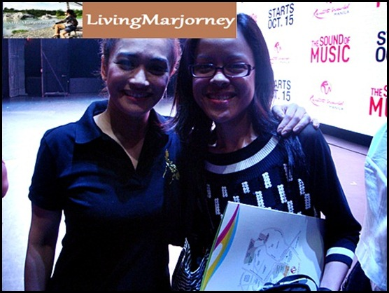 with Ms. Joanna Ampil