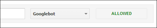 googlebot-allowed
