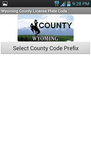 Wyoming County Code Tool