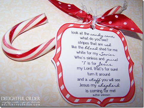 graphic relating to Candy Cane Poem Printable named Scrumptious Acquire: No cost Printable Sweet Cane Poem