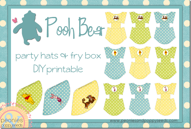 winnie the pooh fry box and party hat copy