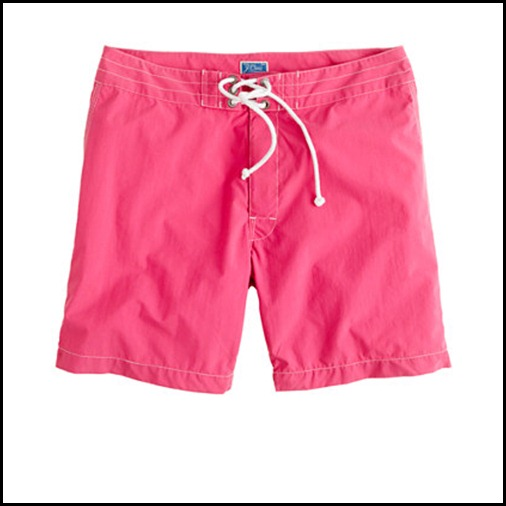 Pink JCrew Board shorts