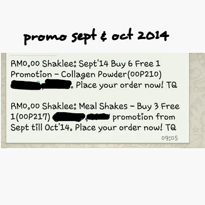 promosi shaklee