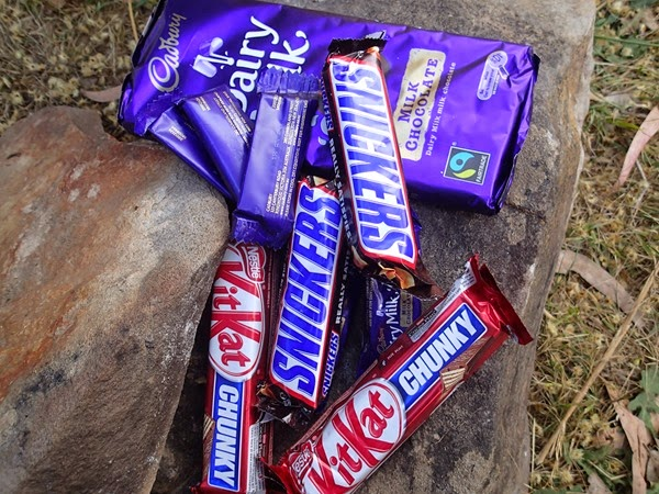 chocolate for hiking