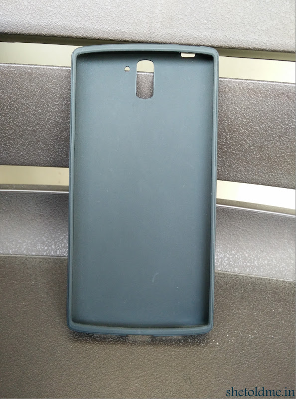 Diztronic+Matte+Black+TPU+Case+For+OnePlus+One