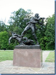2581 Pennsylvania - Gettysburg, PA - Gettysburg National Military Park Auto Tour - Stop 6 - Mississippi Memorial