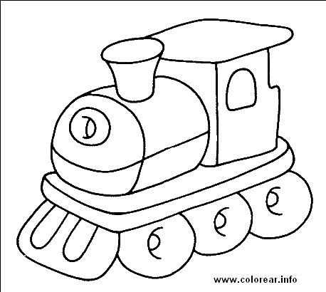 Dibujos Para Colorear Locomotoras
