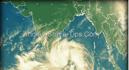 Nilam - Smaller version of US Sandy storm