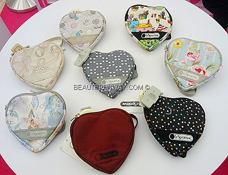 LeSportsac coin purse heart shape Valentine's Day promotion 2012