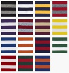 striped shirt colors