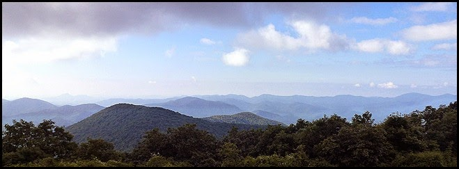 10 - Yes, there called the Blue Ridge Mountains