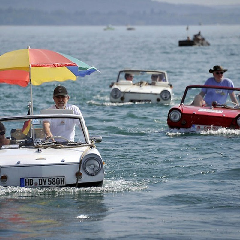 26th Amphibious Car Meet in Switzerland