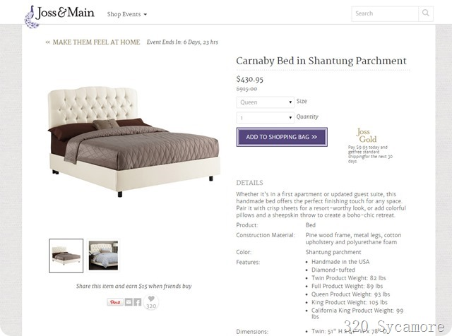 joss main carnaby bed