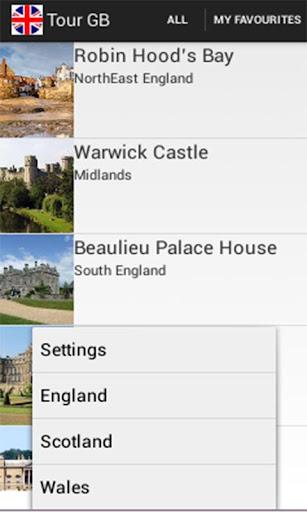 Tour Great Britain