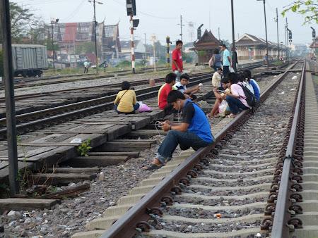 Cai ferate Thailanda