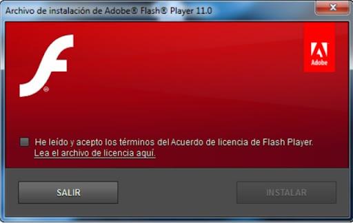 Descargar Adobe Flash Player Beta 11