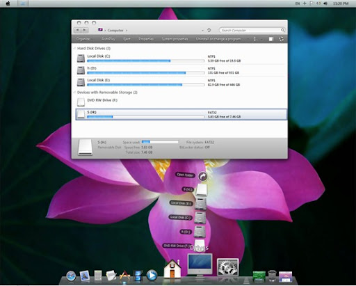 Transformar Windows 7 en Mac OS X 10.7 Lion