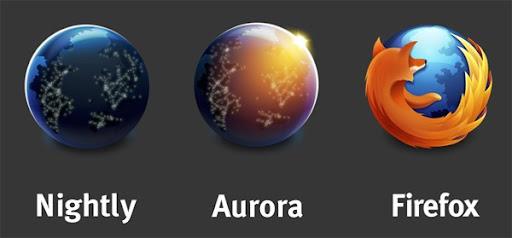 Los nuevos logos de Firefox