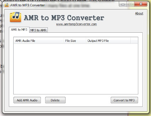 "amr to mp3 converter"","