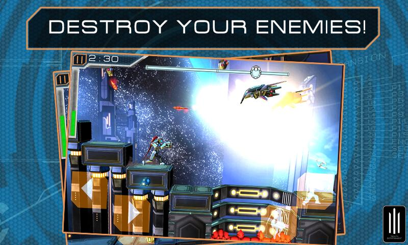 MEGATROID - screenshot