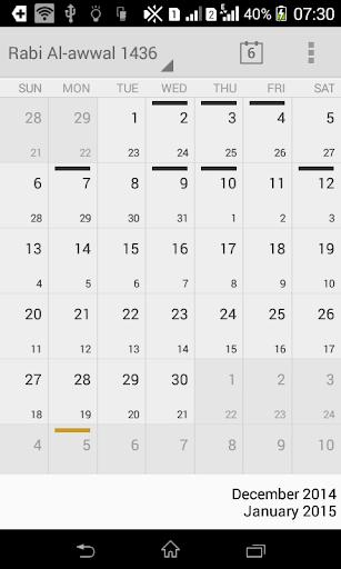 Hijry++: Your Islamic Calendar