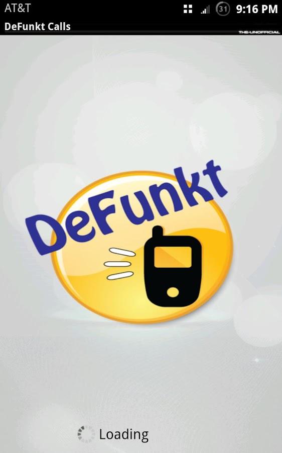 DeFunkt Calls - screenshot