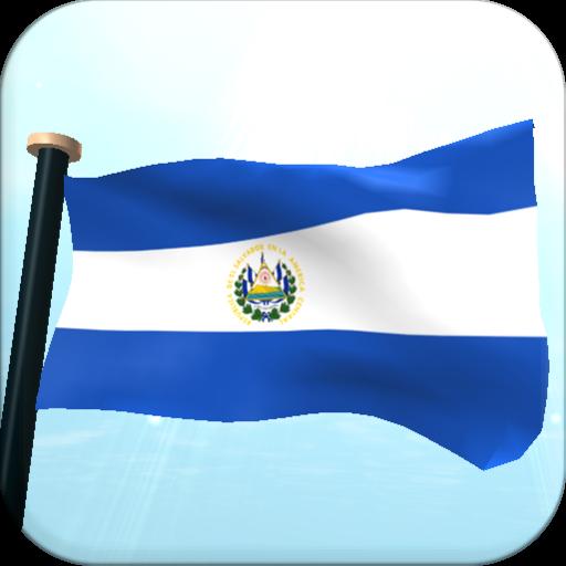 薩爾瓦多旗3D動態桌布 個人化 App LOGO-硬是要APP