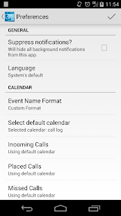 Call Log Calendar - screenshot thumbnail