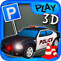 3D Downtown Parking icon