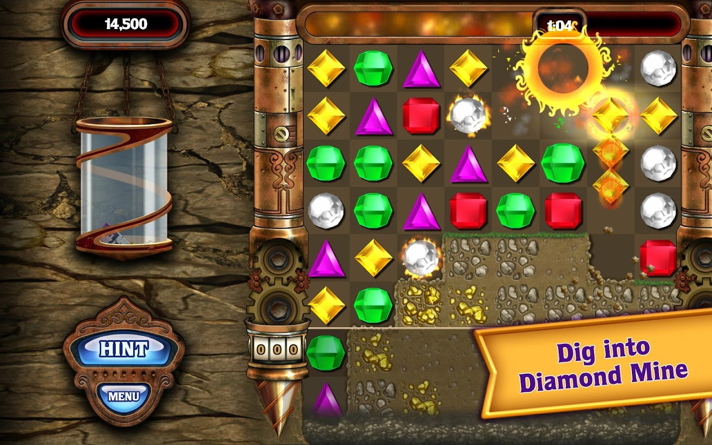 how to delete bejeweled from android