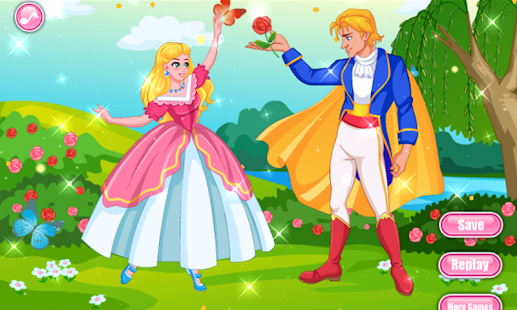 Princess and Prince Dressup - náhled