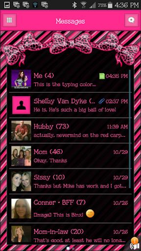 GO SMS THEME - SCS330