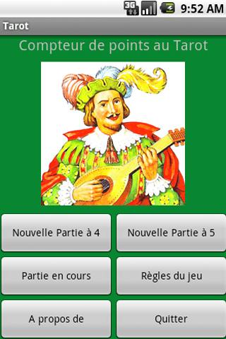 Tarot Points Counter FREE - screenshot