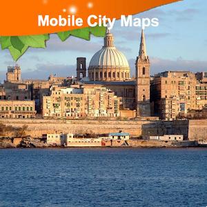 Malta Street Map