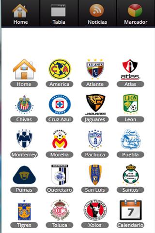 Liga MX.mobi - screenshot