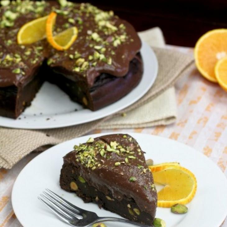 Healthy Flourless Chocolate Orange Cake Recipe