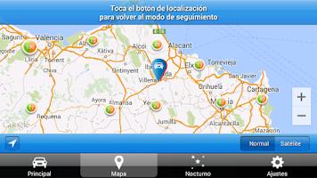 Screenshot of Avisador de Radares