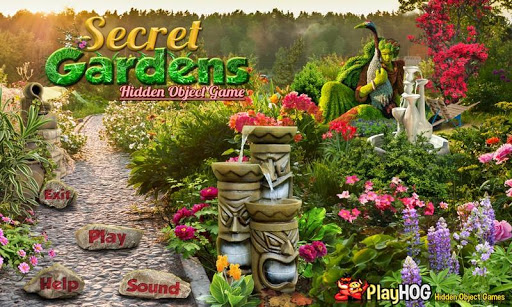 Gardens Find Hidden Objects