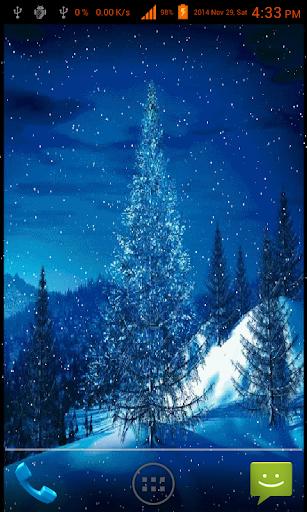 Santa Reindeer Live Wallpaper